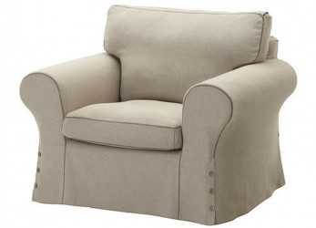 A Buon Mercato Details About Ikea COVER, EKTORP Armchair Risane Natural Beige Chair Slipcover 102.408.96