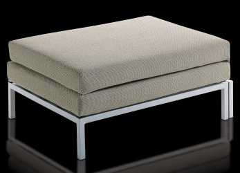 Stupefacente Pouf Letto Willy, Visione Frontale